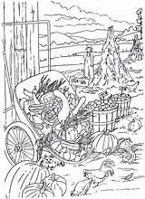 Crops sketch template