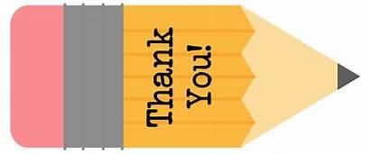 Teacher Thank Gift Tags Printable Tag Pencil