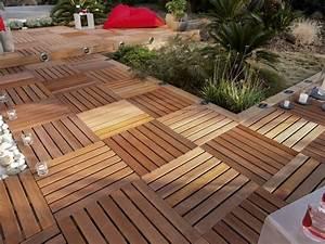 terrasse en bois 3 conseils pour faire le bon choix With terrasse bois sur sable