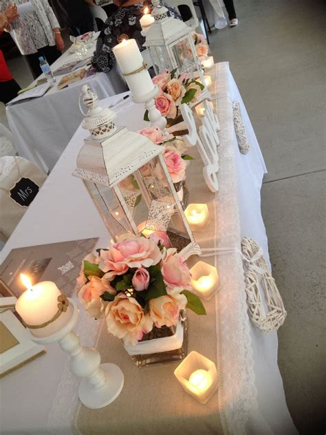 country wedding decoration vintage wedding table