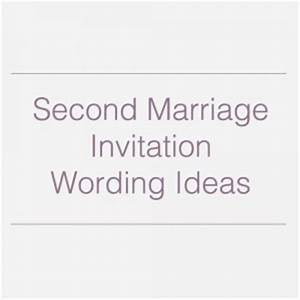 second marriage quotes funny quotesgram With wedding invitations 2nd time around