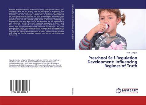 preschool self regulation development influencing regimes 769 | 9783659699627