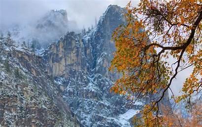 Fall Mountain Desktop Autumn Wallpapers Background Resolution