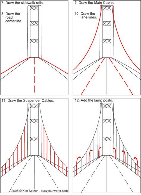 Simple Bridge Drawing at GetDrawings.com | Free for ...