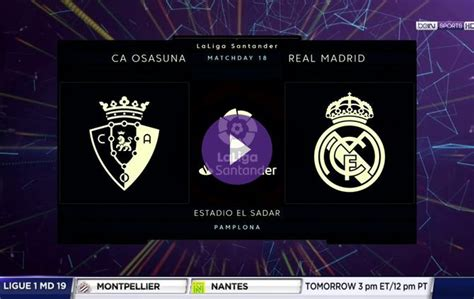Preview: Osasuna vs. Real Madrid on beIN SPORTS