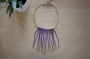 DIY: cómo hacer un collar de flecos / how to make a fringe ...
