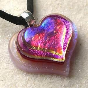 Purple Fire Heart Pendant   See at www.helixelemental.etsy ...