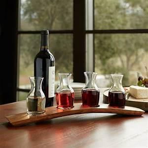 Barrel Stave Wine Flight Set - The Wine Kit