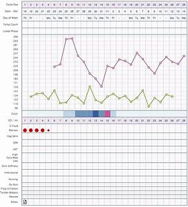 typical basal body temperature chart when ovagraph online fertility charting tool ovacue by