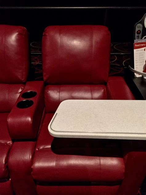 comfy recliner chairs with moving tray for your food and