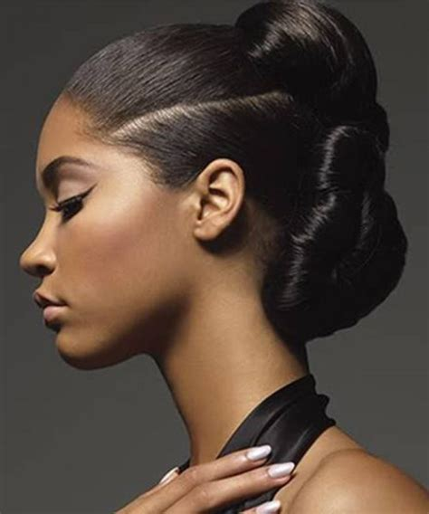 Updo Hairstyles For Black Wedding by 50 Superb Black Wedding Hairstyles