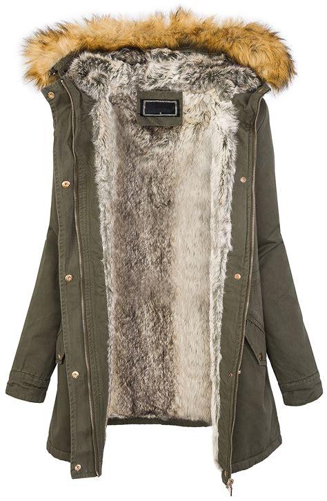 damen winter winter parka damen jacke mantel damenjacke kapuze mit kunstfell warm d 208 ebay