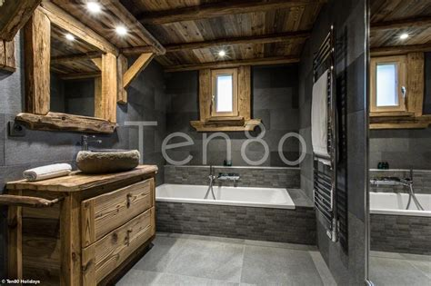 Salle De Bain Chalet by Salle De Bain Chalet De Luxe