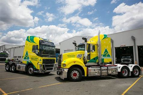 volvo australia trucks volvo group australia celebrates its 60 000th australian