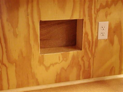 diy wood design  woodworking  square hole