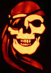 Sugar Skull Pumpkin Stencils 2015 by Pirate Skull Halloween Pumpkin By Kenklinker On Deviantart