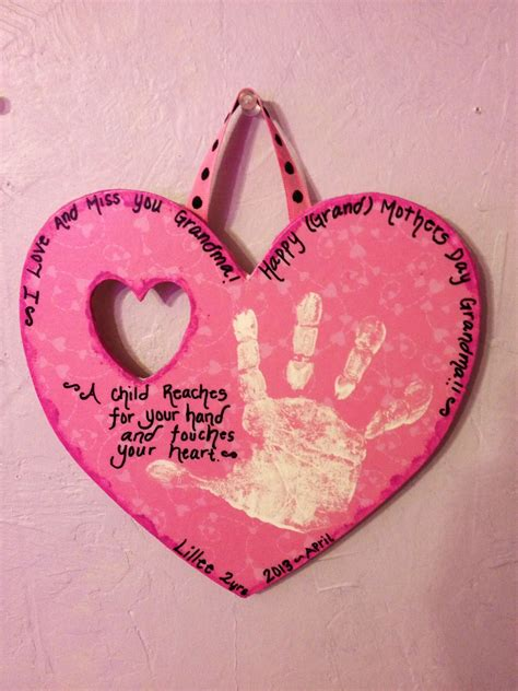wood plaque mothers day gift  grandma mothers day