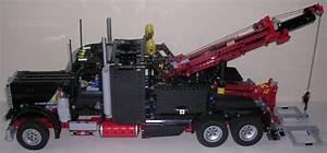 Lego Technic Camion : review lego technic 8285 camion remorqueur ~ Nature-et-papiers.com Idées de Décoration