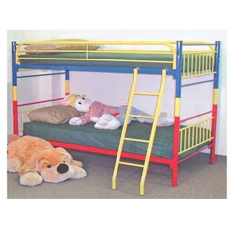 bunk beds multi color twin twin bunk bed  ml