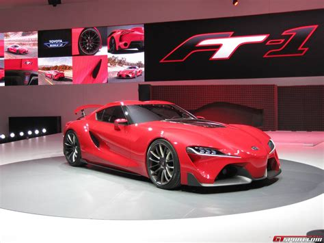 Detroit 2018 Toyota Ft 1 Concept Gtspirit
