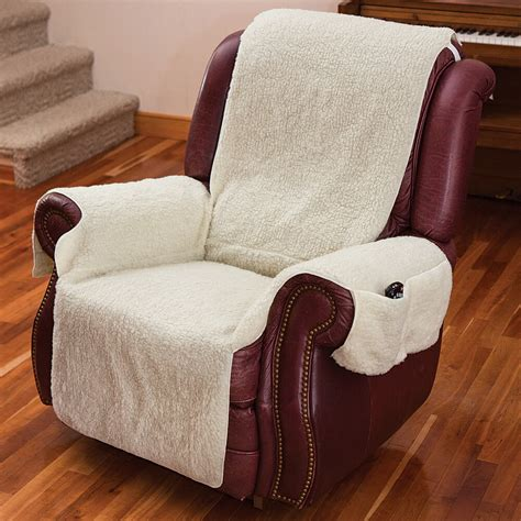 To Cover Chairs by New Recliner Chair Cover One W Armrests And Pockets