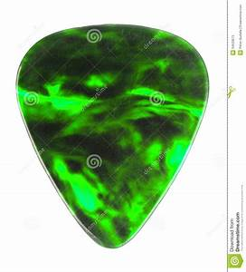Guitar Pick stock image. Image of color, isolated, play ...