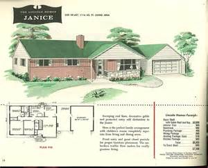 house plans with a porch factory built houses 28 pages of lincoln homes from 1955