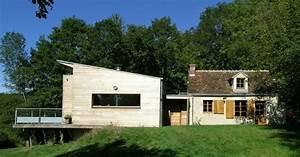 Extension Maison Ancienne : extension bois extension maison extension en bois d ~ Louise-bijoux.com Idées de Décoration
