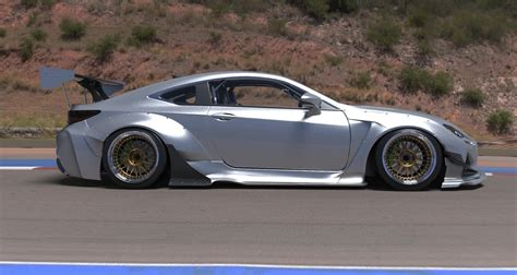 rocket bunny lexus rc rc f rocket bunny kit available for preorder