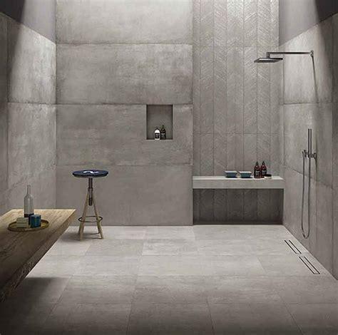 Beton Fliesen Bad by Carrelages Prima Materia Cemento 60x60 80x180 60x120 By