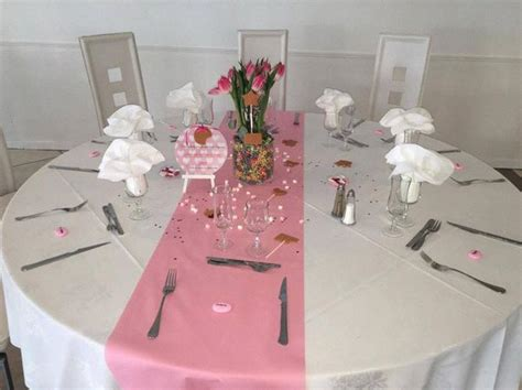 decoration table bapteme gourmandise