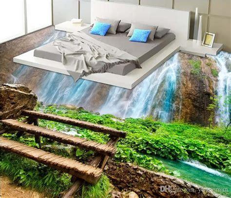 3d Stereoscopic Floor Murals Self Adhesive Wallpaper