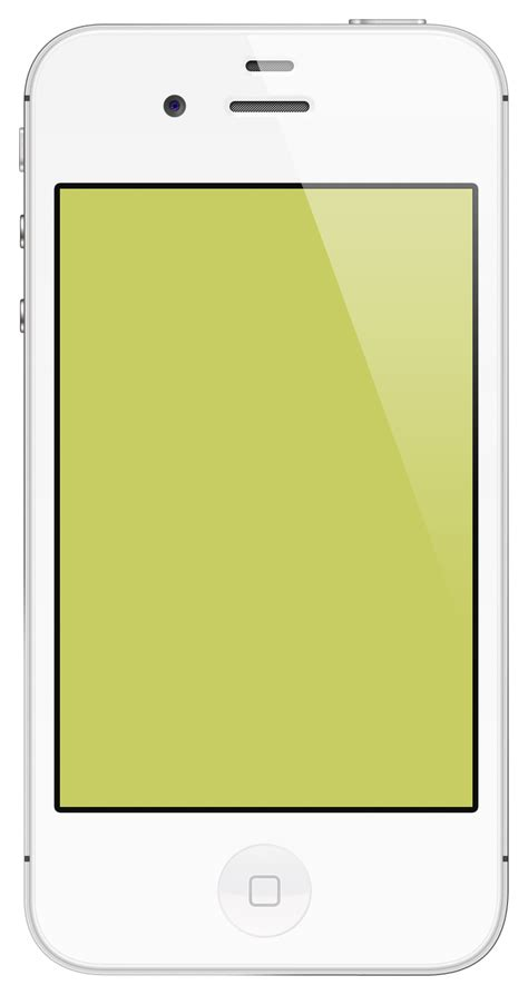 iphone image file iphone 4s white ysod png