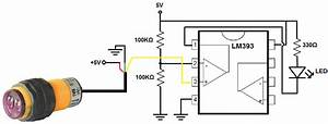 How To Build A Infrared Proximity Switch Circuit With A Voltage Comparator Chip