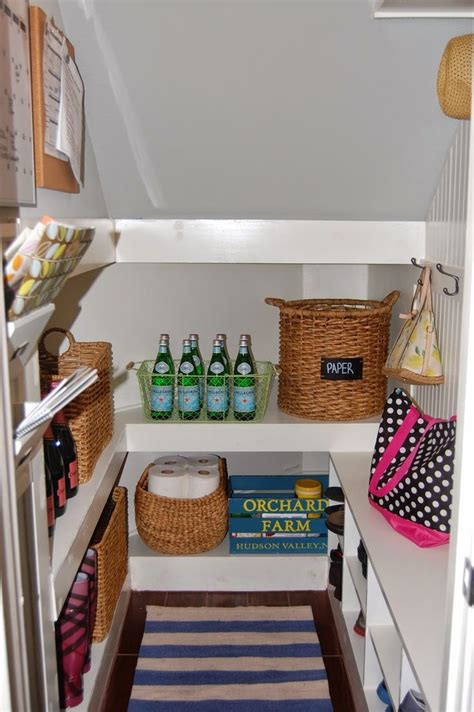 If you don't have a lot of storage in your home and you're looking for a new place to organize your belongings, keeping items under your stairs is a great way to save space. under the stair storage   Closet under stairs, Under ...