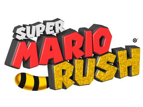 Super Mario Rush Logo By Nuryrush On Deviantart
