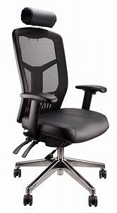 High, Back, Executive, Mesh, Deluxe, Pro, Chair, -, Leather