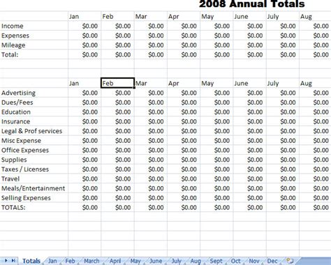 expense report template  excel blank expense report