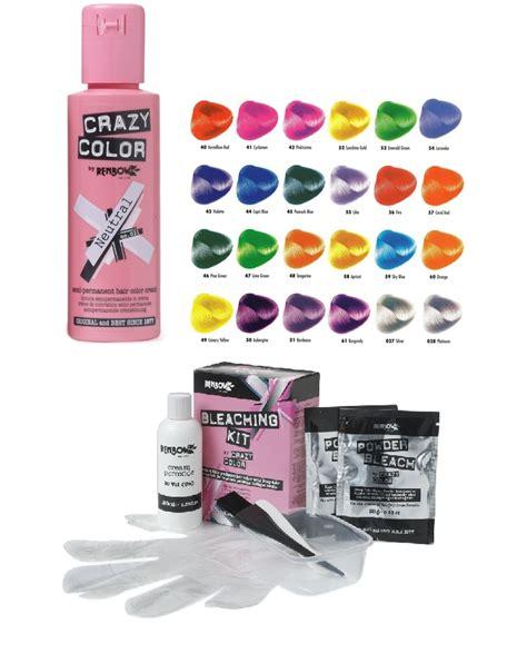 Crazy Color Semi Permanent Liquid Cream Hair Colour Dye