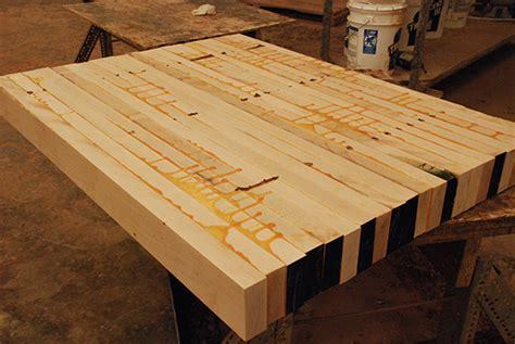 how to make butcher block countertops diy butcher block part 1 the curtis casa