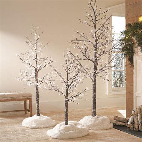 led twig tree  snow christmas tree twig tree