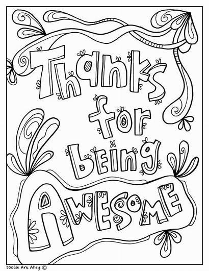 Principal Coloring Teacher Appreciation Pages Nurse Week