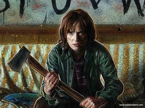 Kyle Lambert Stranger Things Paintings