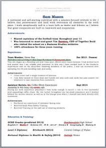 high graduate resume template microsoft word leaver 39 s cv jobfox uk