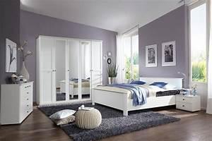 Chambre Complete Adulte : chambre a coucher contemporaine adulte vente lit double ~ Carolinahurricanesstore.com Idées de Décoration