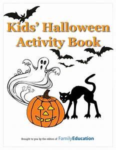 Kids' Halloween Activity Book Printable - FamilyEducation