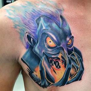 Related Keywords & Suggestions for hades disney tattoo