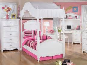 little girls canopy bedroom sets