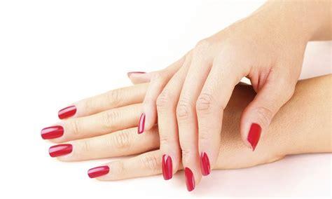 Gel Manicure Or Pedicure  Avant Garde Groupon