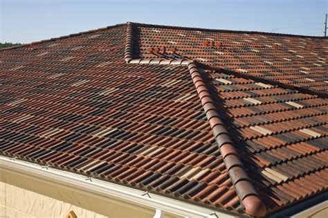 concrete  clay tile roof costs  pros  cons